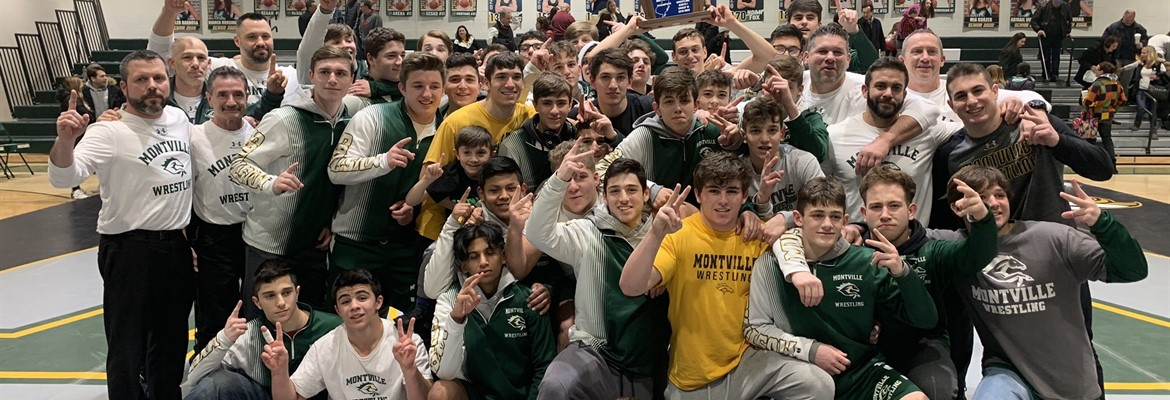 Wrestling Team 2020 State Group III Champions
